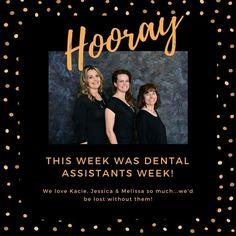We love our dental assistants! #teamgfd #calvertcountydentist #dentalassistantsweek