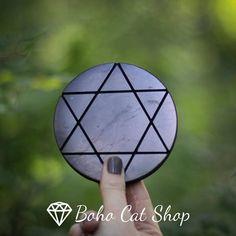 Shungite Hexagram Star of David Merkaba star Shungite star