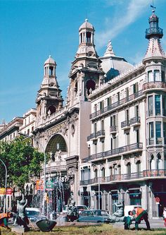 Coliseum. Barcelona, Catalonia