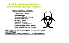 Get help from the professionald and certified Crime scene and Trauma cleaner in Mesa Arizona 24/7/365 locally with quick cleanup assistance.  call us for cleanup emergency @ 1-888-477-0015 , (855) 203-0123 , 1-888-522-7793  Get big discount on each cleanup services from A.C.T in Jan 2016.  Professional cleanup @ Affordable price.