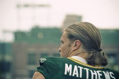 Clay Matthews at Green Bay Packers training camp in 2011