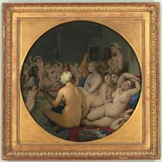 Jean-Auguste-Dominique Ingres | The Turkish Bath | Images d'Art