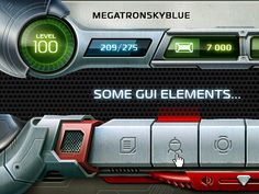 Some GUI elements by Davlikanoff Design
