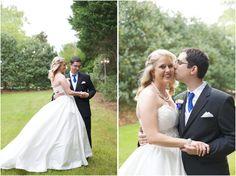 southern wedding portraits - romantic garden wedding photography