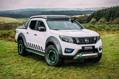 Nissan has unveiled an all-new vehicle at the 2016 Hannover Motor Show. The Nissan Navara EnGuard Concept is a durable and tough all-terrain pick-up, designe. New Nissan Navara, B13 Nissan, Nissan 350z, Nissan Juke, New Trucks, Pickup Trucks, Navara D40, Ford Ranger Raptor, Diesel