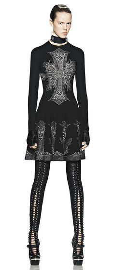 alexander mcqueen. It's like modern day but slightly futuristic Joan of Arc.                                                                                                                                                                                 More