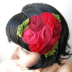 lovely headband idea - Giant Dwarf from Etsy has been selling these