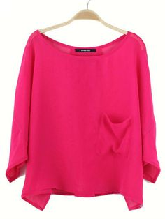Wholesale long sleeve chiffon t shirt  $ 7.80