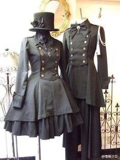 Victorian inspired outfits