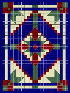 Patrones afganos ~ Dos Agujas y Crochet