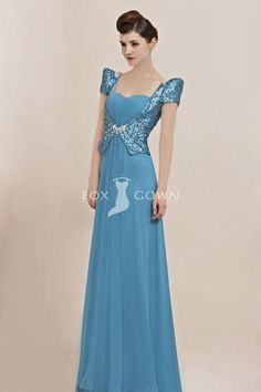 turquoise short sleeve sweetheart a-line floor length beaded sequin bodice deep v-back formal dress Prom Dress 2013, Prom Party Dresses, Occasion Dresses, Bridal Dresses, Bridesmaid Dresses, Dresses 2013, Blue Evening Dresses, Formal Dresses, Filipiniana Dress