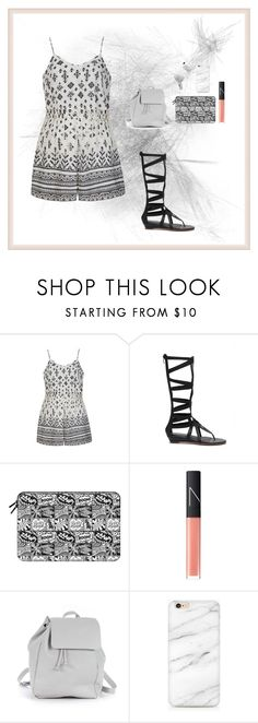"""Just Set"" by oksana-kolesnyk ❤ liked on Polyvore featuring Ally Fashion, Casetify, NARS Cosmetics, Zara TRF and JVC"
