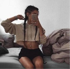 Chic Casual Hoodie Hooded Crop Top Short Beige Gray Fashion Sexy sold by BLACK NANA. Shop more products from BLACK NANA on Storenvy, the home of independent small businesses all over the world.