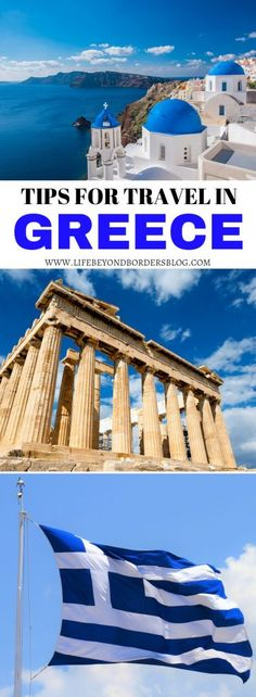 Tips for Travel in Greece - Things to Know Before Travelling in Greece Greece Europe travel vacation Mediterranean 211950726197883316 Travel Tips For Europe, Europe Destinations, Travel Advice, Travel Guides, Places To Travel, Travel Things, Travel Hacks, Budget Travel, Fun Things