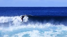 Photo of the Week - Dean Surfing At Dolphin Point