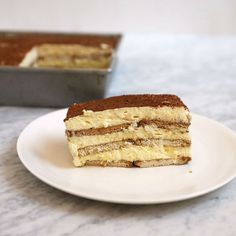 Chef Eyal Shani's ultracreamy (and teetotal) version of tiramisu gets great flavor from supermarket staples like instant vanilla pudding and farmer cheese. Get the recipe at Food & Wine.