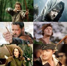 A group of Robin Hoods....