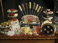 Victorian candy display