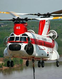Boeing / Vertol 234 (Commercial Boeing Chinook) Helicopter - Owned by: Columbia Helicopters Inc – Used as a Helitanker Helicopter Private, Helicopter Plane, Military Helicopter, Jet Plane, Military Aircraft, Boeing Ch 47 Chinook, Chinook Helicopters, Zeppelin, Engin