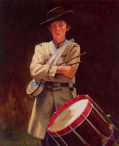 Confederate Drummer Boy of the American Civil War. American Civil War, American History, War Drums, Civil War Art, Southern Heritage, Drummer Boy, Historical Art, Before Us, Civilization