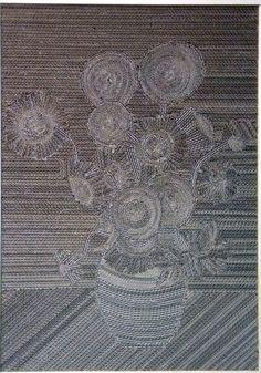 Słoneczniki / Sunflowers | Z Kartonu