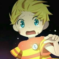 He makes me have a hug lust. I just wanna hug him. He's so sad and scared Super Nintendo, Lucas Mother 3, Mother Games, Alice Mare, Corpse Party, Mother Art, Satsuriku No Tenshi, Cute Games, Witch House