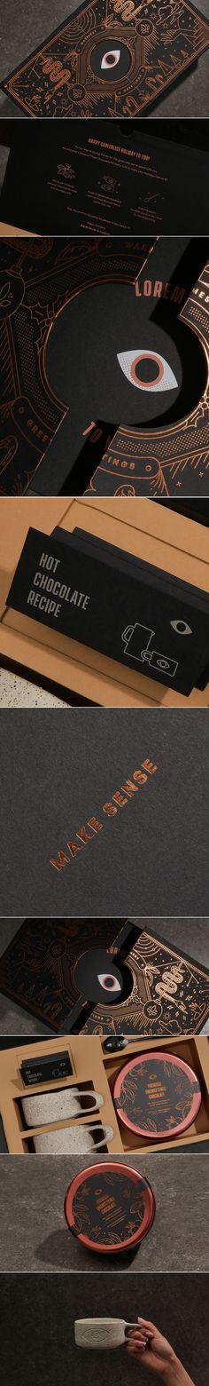 "We Love The Illustrated Details on This ""Seriously Good\"" Chocolate Kit Global Design Consultancy delivered \""A Seriously Good Chocolate Kit\"" that has us swooning over the design. Brand Packaging, Packaging Design, Branding Design, Logo Design, Identity Branding, Coffee Packaging, Bottle Packaging, Food Packaging, Design Design"
