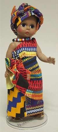 "Madame Alexander International-8"" Doll Nigeria - Boxed"