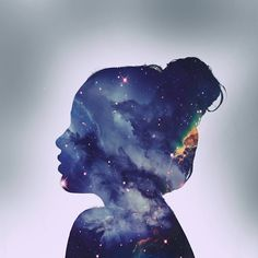 Multi-exposure galaxy portrait