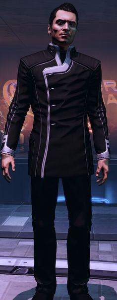Kaidan Alenko, the man dresses up good