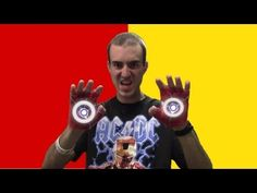 Duct Tape Iron Man Gloves! - YouTube