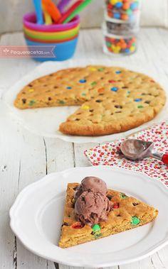 Cookie gigante, una idea para una fiesta infantil