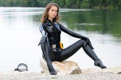 rubber-combatdivers break by LXXT.deviantart.com on @deviantART