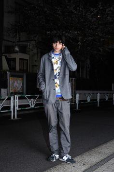 ストリートスナップ原宿 - ZiNEZさん - MSGM, New Balance, rag & bone, ラグアンドボーン