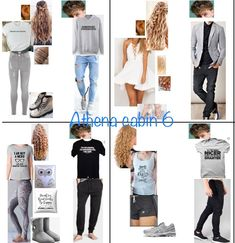 Athena cabin 6 Percy Jackson Outfits, Percy Jackson Memes, Percy Jackson Fandom, Edgy Outfits, Cool Outfits, Fashion Outfits, Themed Outfits, Inspired Outfits, Percy Jackson Cabins