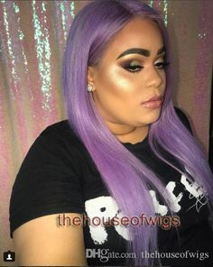 130 Density Purple Human Hair Lace front Wig With Baby Hair Human Hair Brazilian Full Lace Wig For Black Women Full Lace Human Hair Wigs 360 Lace Wig Lace Front Human Hair Wigs Online with $330.21/Piece on Thehouseofwigs's Store | DHgate.com Short Human Hair Wigs, 100 Human Hair, Lace Front Wigs, Lace Wigs, Purple Wig, Colored Wigs, 360 Lace Wig, Wigs Online, Wigs For Black Women