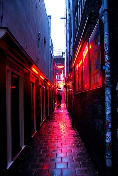 red light alley