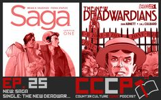 Counter Culture Comic Podcast:  In this week's comic book podcast, we thought we were going easy on ourselves this week with Saga from Image. Multi-Award winning, beautiful cover art, a magic Sci-Fi sandwich… I think we surprised ourselves with how many criticisms we walked away with. I'm interested to see if anyone else agrees with our opinions.