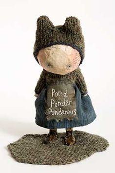 'Pond Ponder Ponderous': Julie Arkell