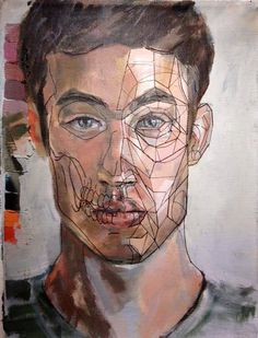 "Tyler O'Brien ""Self Portrait Deconstruction"" 2013"
