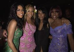 Vintage Aaliyah with Destiny's Child