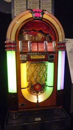 I love the 50's and always dream about a bubble juke box!
