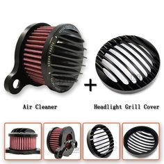 Motorcycle Air Cleaner+Intake Filter System Case https://www.amazon.co.uk/dp/B01N1RDXYP