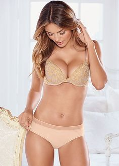 635fc2da72dd1 Add some sparkle to your lingerie collection. Venus kissable sparkle lace  bra with Venus everyday