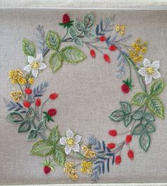 Image result for Sadako Totsuka Herb Embroidery on Linen - 1