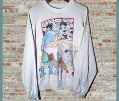 Vintage Disney Snow White Crewneck Sweatshirt