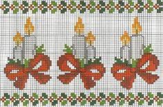Point de croix *<3* Cross stitch: Ponto cruz (Natal)