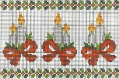 Point de croix *<3* Cross stitch: Ponto cruz (Natal)