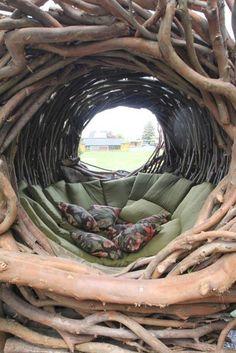 Los increíbles nidos a gran escala de Jayson Fann: inspirados por las aves, construidos para los humanos © Jayson Fann