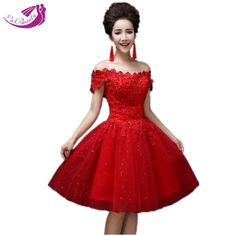 US $38.96 Romantic Red Wedding Dresses View Now: http://weddirect.co/products/romantic-red-wedding-dresses/